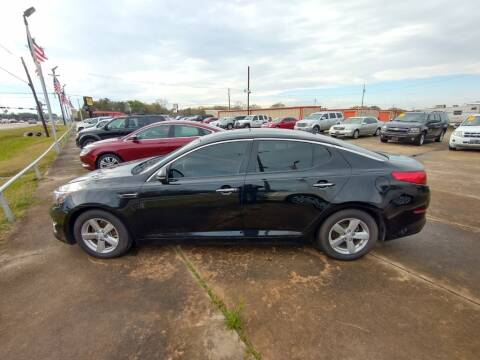 2015 Kia Optima for sale at BIG 7 USED CARS INC in League City TX