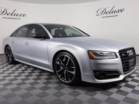 2017 Audi S8 plus for sale at DeluxeNJ.com in Linden NJ