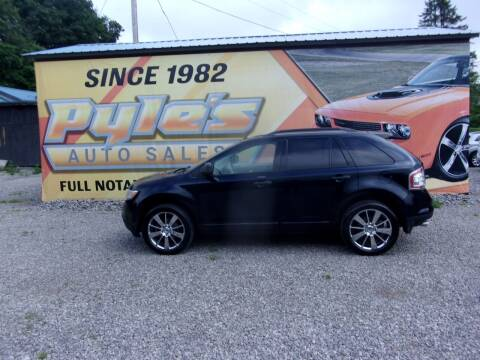 2010 Ford Edge for sale at Pyles Auto Sales in Kittanning PA