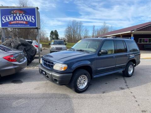 2000 Ford Explorer for sale at Sam Adams Motors in Cedar Springs MI