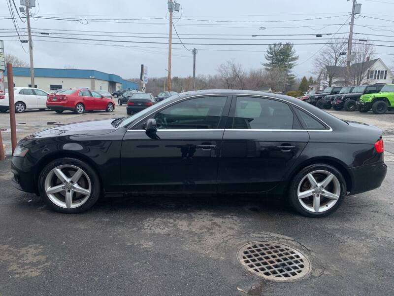 2011 Audi A4 for sale at BAY CITY MOTORS in Portland ME
