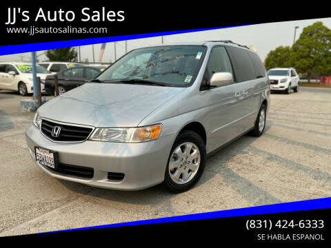 2003 Honda Odyssey for sale at JJ's Auto Sales in Salinas CA