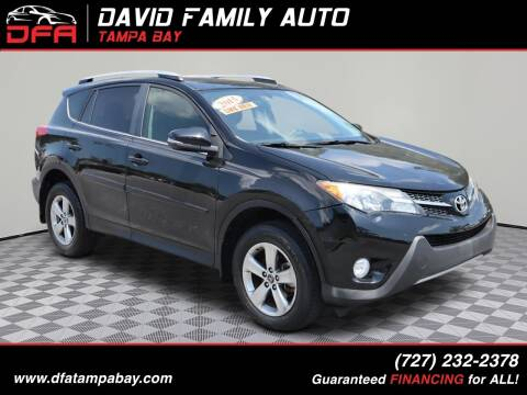 2015 Toyota RAV4 for sale at David Family Auto in New Port Richey FL
