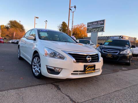 2014 Nissan Altima for sale at Save Auto Sales in Sacramento CA