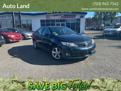 2014 Toyota Camry for sale at Auto Land in Manassas VA
