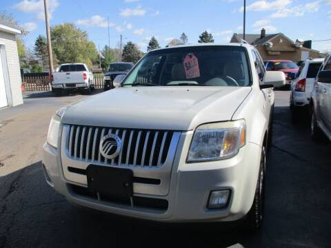 2009 Mercury Mariner for sale at SPRINGFIELD AUTO SALES in Springfield WI