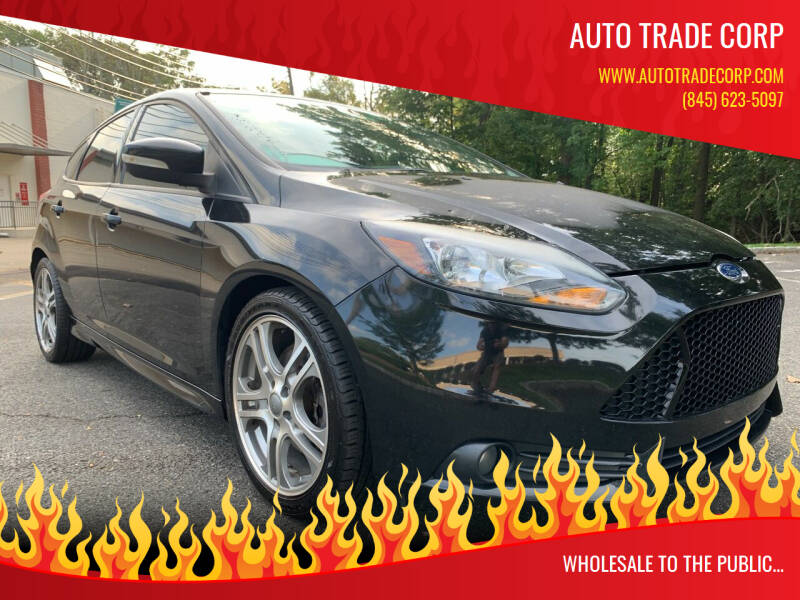 2013 Ford Focus for sale at AUTO TRADE CORP in Nanuet NY