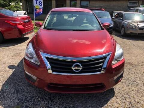 2015 Nissan Altima for sale at NORTH CHICAGO MOTORS INC in North Chicago IL