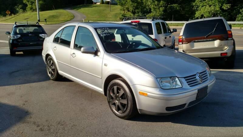 2002 Volkswagen Jetta for sale at DISCOUNT AUTO SALES in Johnson City TN