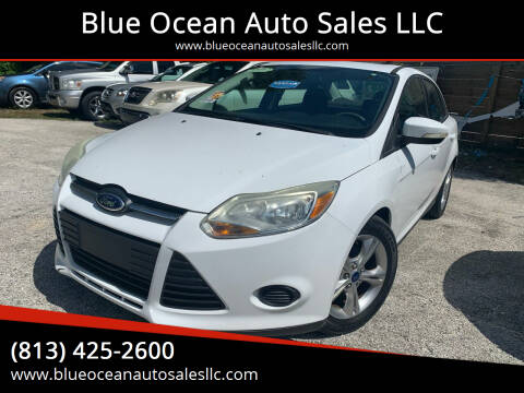 2014 Ford Focus for sale at Blue Ocean Auto Sales LLC in Tampa FL