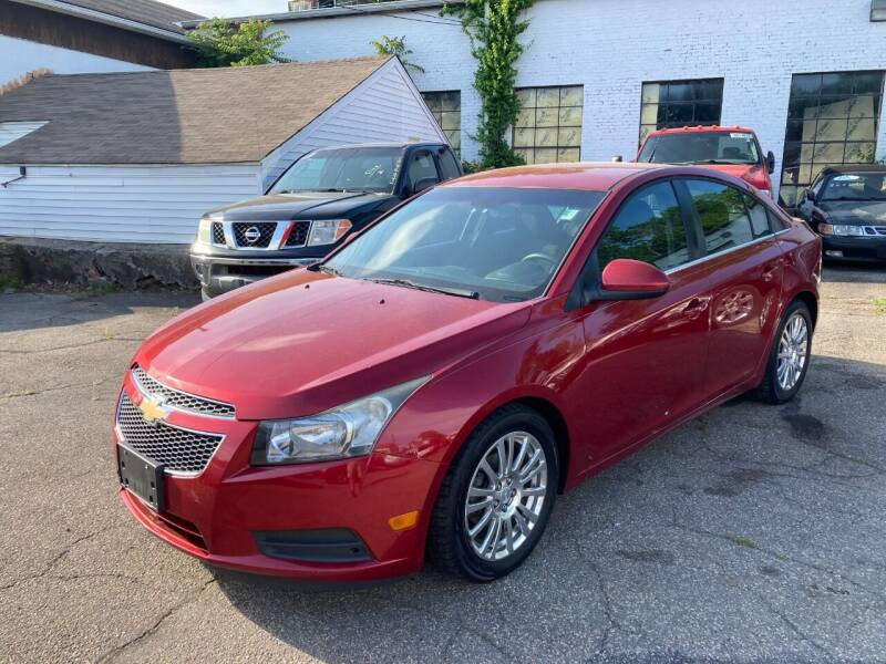 2012 Chevrolet Cruze for sale at ENFIELD STREET AUTO SALES in Enfield CT