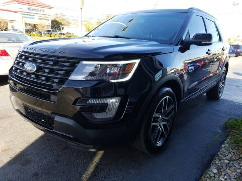2016 Ford Explorer for sale at Martins Auto Sales in Shelbyville KY