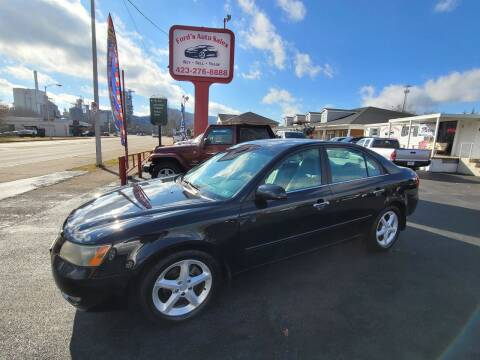 2006 Hyundai Sonata for sale at Ford's Auto Sales in Kingsport TN