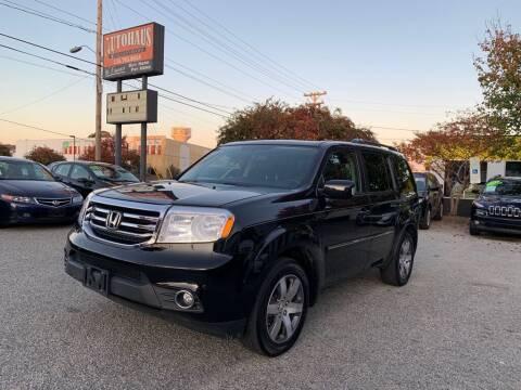 2014 Honda Pilot for sale at Autohaus of Greensboro in Greensboro NC