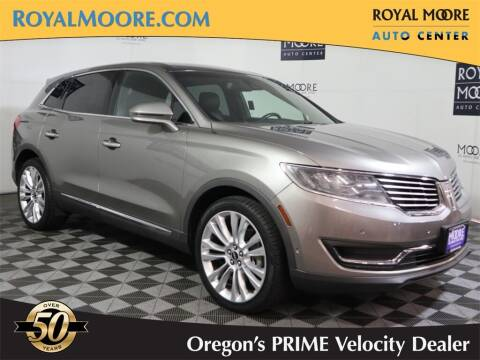 2016 Lincoln MKX for sale at Royal Moore Custom Finance in Hillsboro OR