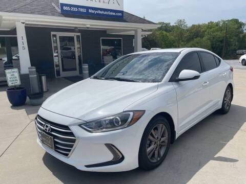 2018 Hyundai Elantra for sale at Maryville Auto Sales in Maryville TN