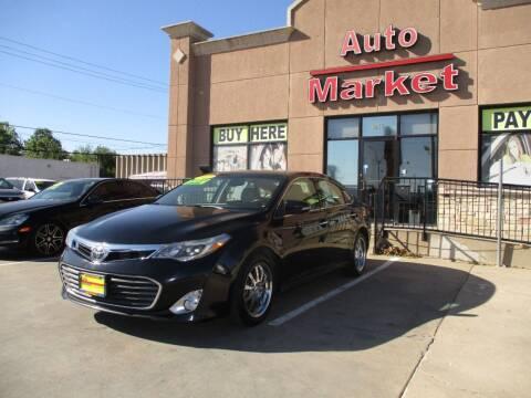 2013 Toyota Avalon for sale at Auto Market in Oklahoma City OK