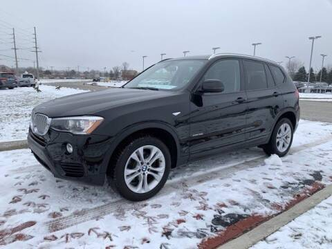 2017 BMW X3 for sale at BMW of Schererville in Shererville IN