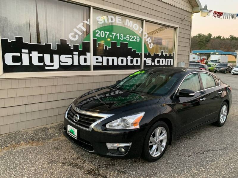 2015 Nissan Altima for sale at CITY SIDE MOTORS in Auburn ME