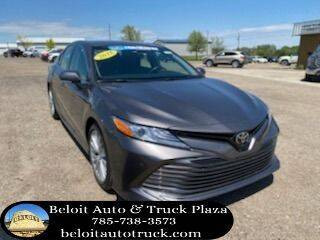 2018 Toyota Camry for sale at BELOIT AUTO & TRUCK PLAZA INC in Beloit KS