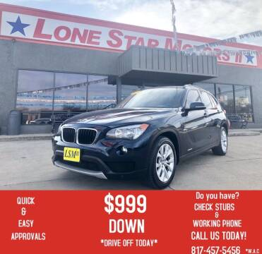 2013 BMW X1 for sale at LONE STAR MOTORS II in Fort Worth TX