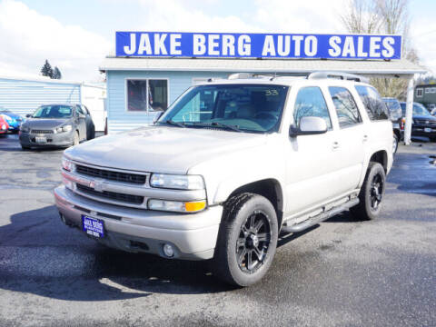 2005 Chevrolet Tahoe for sale at Jake Berg Auto Sales in Gladstone OR