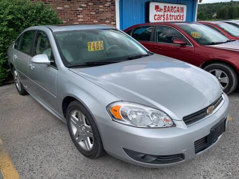 2011 Chevrolet Impala for sale at BURNWORTH AUTO INC in Windber PA