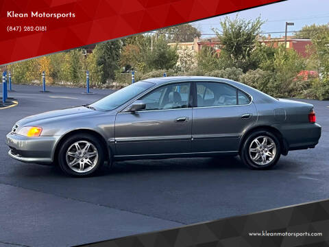 2000 Acura TL for sale at Klean Motorsports in Skokie IL