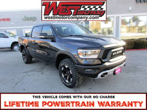 2021 RAM Ram Pickup 1500 for sale at West Motor Company in Preston ID
