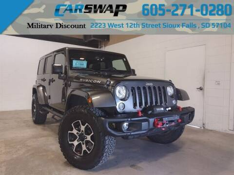 2017 Jeep Wrangler Unlimited for sale at CarSwap in Sioux Falls SD