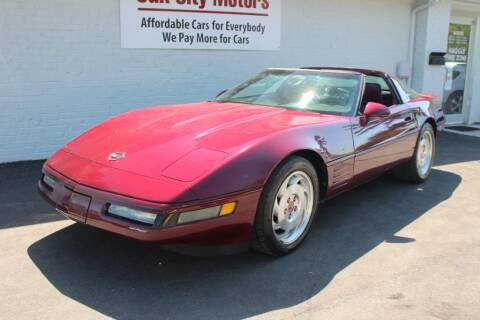 1993 Chevrolet Corvette for sale at Oak City Motors in Garner NC