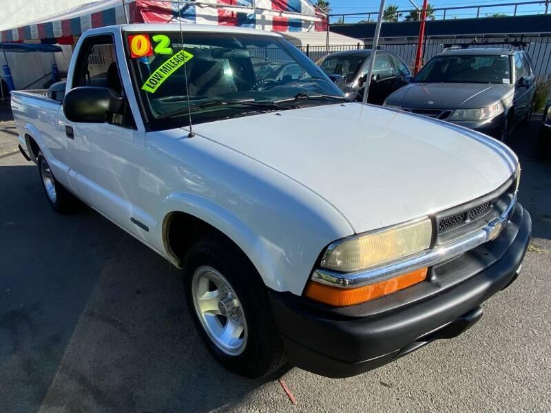 2002 Chevrolet S-10 for sale in Oceanside, CA