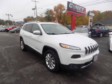 2016 Jeep Cherokee for sale at Comet Auto Sales in Manchester NH
