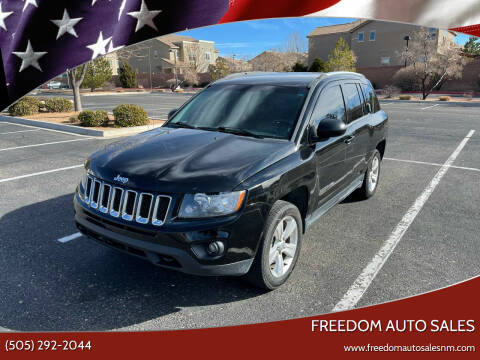 2014 Jeep Compass for sale at Freedom Auto Sales in Albuquerque NM