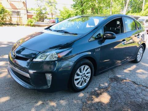 2013 Toyota Prius Plug-in Hybrid for sale at Midland Commercial. Chicago Cargo Vans & Truck in Bridgeview IL