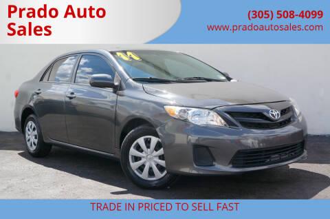 2011 Toyota Corolla for sale at Prado Auto Sales in Miami FL