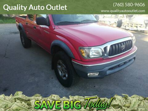 2004 Toyota Tacoma for sale at Quality Auto Outlet in Vista CA