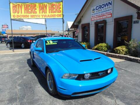 2010 Ford Mustang for sale at Crown Used Cars in Oklahoma City OK