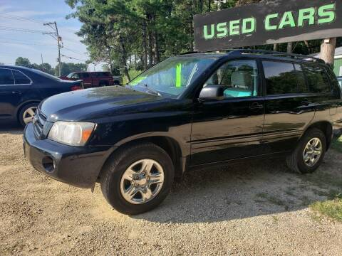 2007 Toyota Highlander for sale at Northwoods Auto & Truck Sales in Machesney Park IL