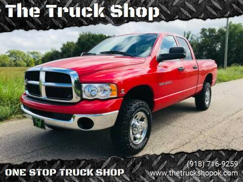2004 Dodge Ram Pickup 2500 for sale at The Truck Shop in Okemah OK