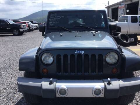 2008 Jeep Wrangler Unlimited for sale at Troys Auto Sales in Dornsife PA