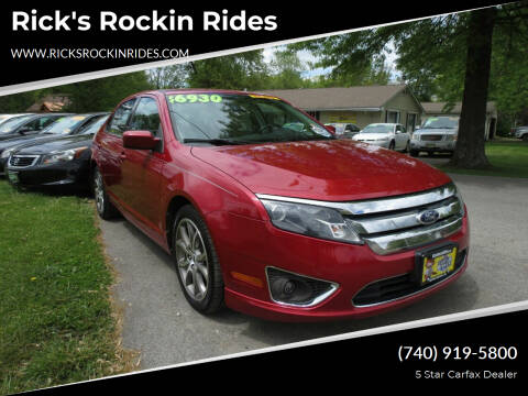 2010 Ford Fusion for sale at Rick's Rockin Rides in Reynoldsburg OH
