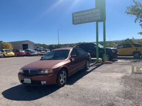 2000 Lincoln LS for sale at Independent Auto in Belle Fourche SD