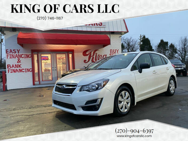 2016 Subaru Impreza for sale at King of Cars LLC in Bowling Green KY
