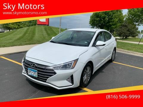 2020 Hyundai Elantra for sale at Sky Motors in Kansas City MO