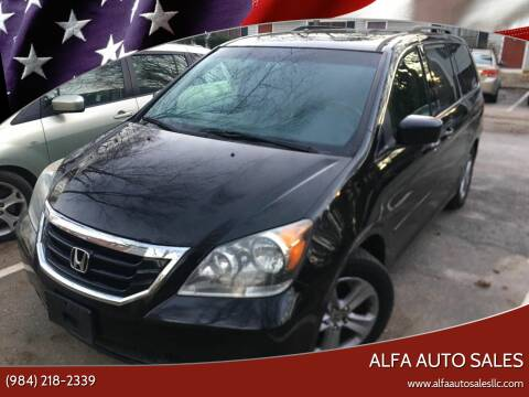 2009 Honda Odyssey for sale at Alfa Auto Sales in Raleigh NC