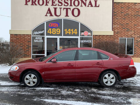 2007 Chevrolet Impala for sale at Professional Auto Sales & Service in Fort Wayne IN