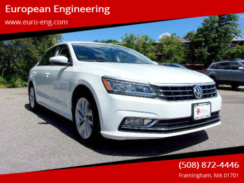 2018 Volkswagen Passat for sale at European Engineering in Framingham MA
