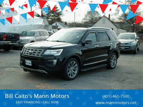 2016 Ford Explorer for sale at Bill Caito's Mann Motors in Warwick RI