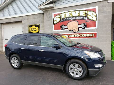 2011 Chevrolet Traverse for sale at Steve's Automotive Inc. in Niagara Falls NY
